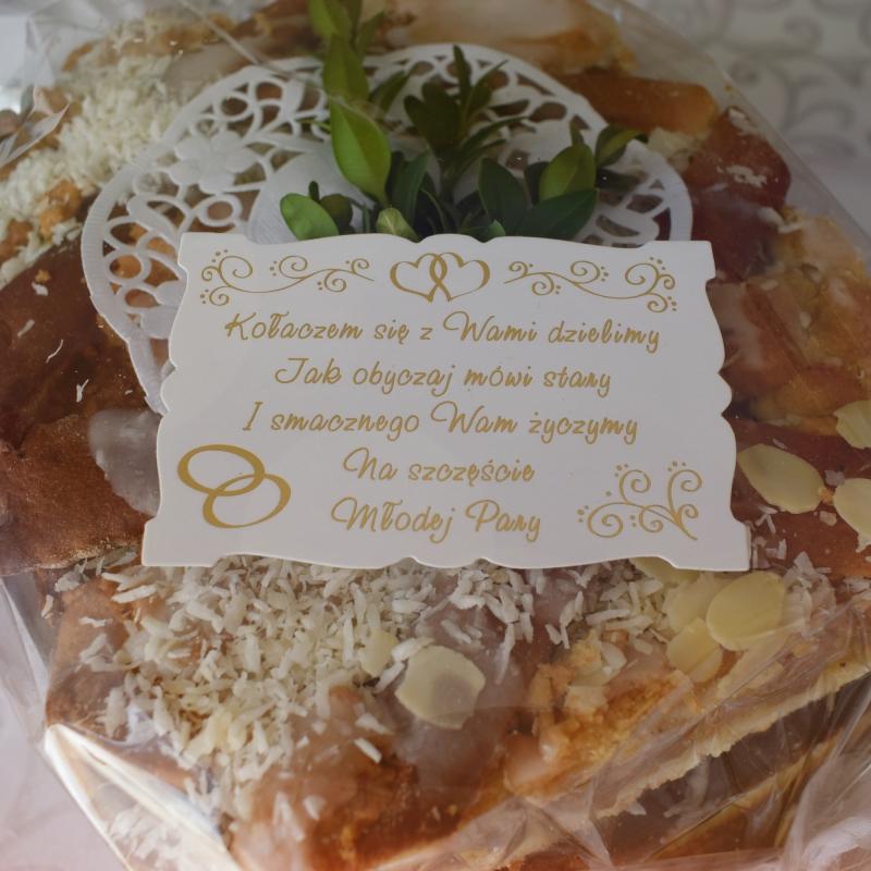 ciasto weselne pinocy